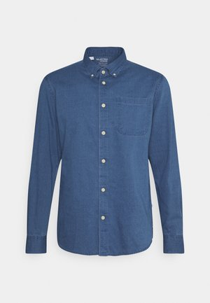 SLHREGRICK - Shirt - medium blue denim