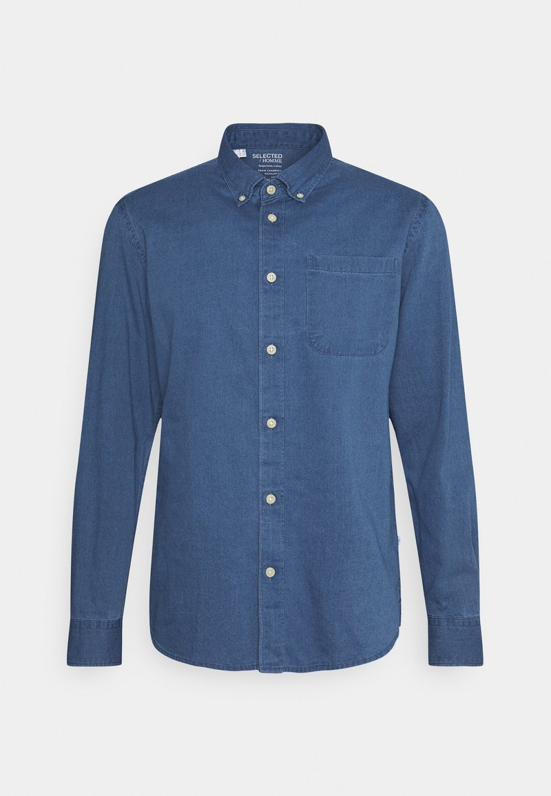 Selected Homme - SLHREGRICK - Camicia - medium blue denim