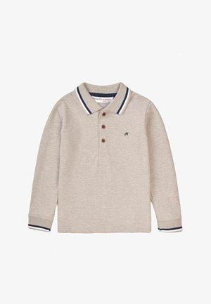 Poloshirt - grey marl