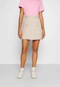 Fashion Union - Minifalda - check - 0