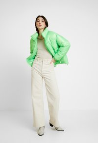 Even&Odd - BARDOT NECKLINE - Stickad tröja - beige melange - 1