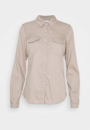 VIBISTA DENIM SHIRT - Skjorte - simply taupe