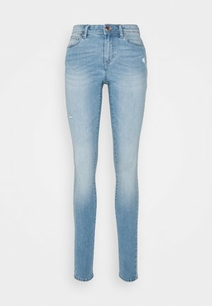 ONLWAUW LIFE  - Jeans Skinny Fit - light medium blue denim