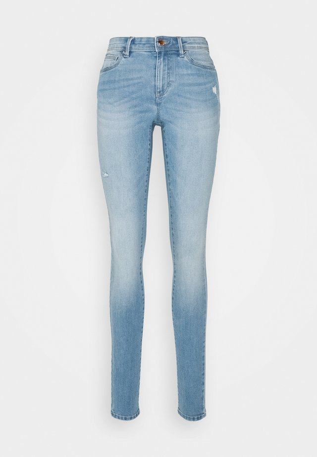ONLWAUW LIFE  - Jeans Skinny Fit - light medium blue denim