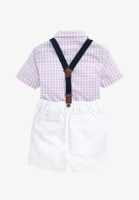 Next - LILAC SHIRT & SHORTS SET (3MTHS-7YRS) - Cinturón - purple - 1