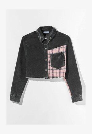 HEMDJACKE  - Denim jacket - grey