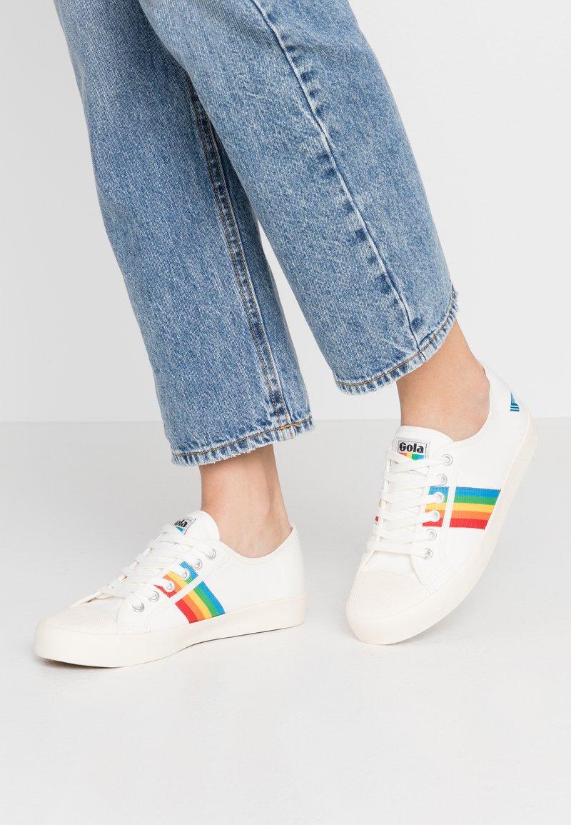 Gola - COASTER RAINBOW - Sneakersy niskie - offwhite