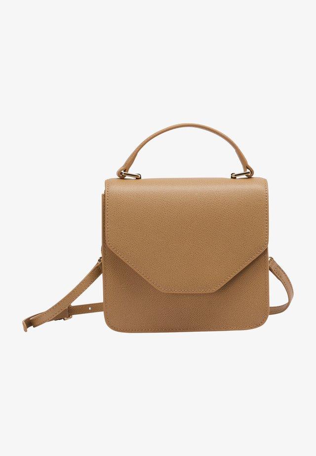 Handväska - dunkelbeige