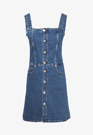 BUTTON DOWN TANK DRESS - Vestito di jeans - dark stone