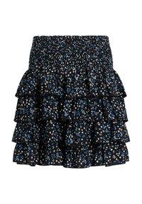 WE Fashion - Wrap skirt - Black - 1