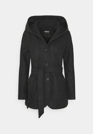 ONLCHANETT JACKET  - Classic coat - dark grey melange
