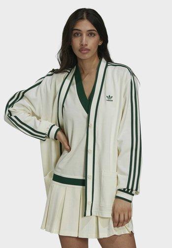 TENNIS LUXE CARDIGAN ORIGINALS - Cardigan - off white