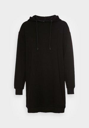 IMA HOOD DRESS - Kjole - black