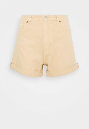 TALLIE - Short en jean - beige