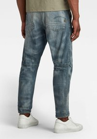 G-Star - GRIP 3D RELAXED TAPERED - Jean boyfriend - faded bay burn destroyed - 1