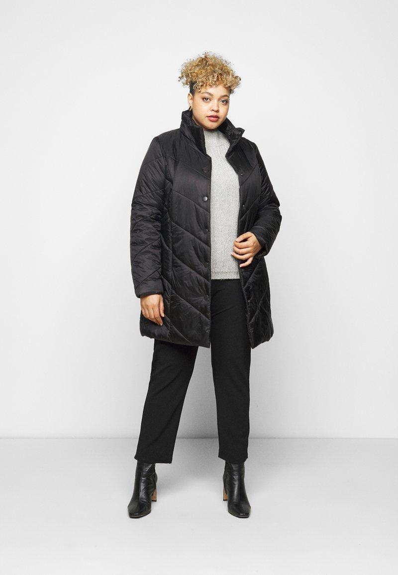 Persona by Marina Rinaldi - PANTONE - Short coat - black