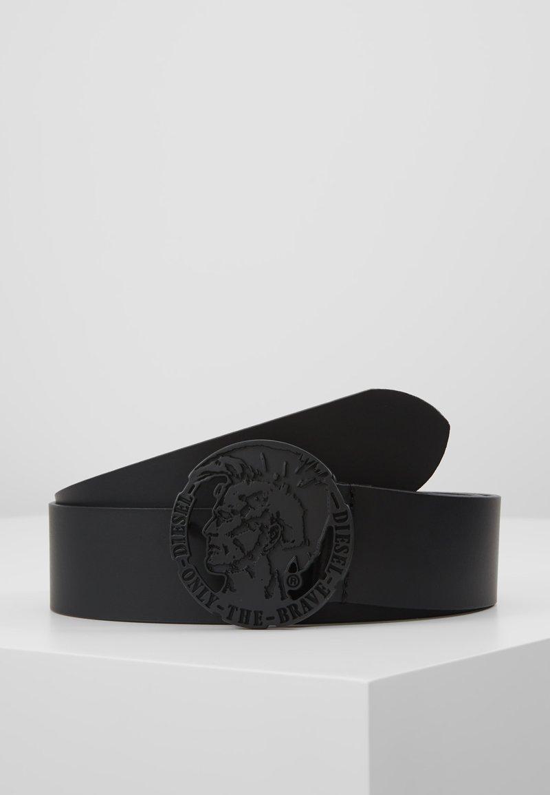 Diesel - TARZO BELT - Ceinture - black