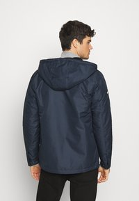 Redefined Rebel - RRGALAXY HOOD - Light jacket - navy - 2