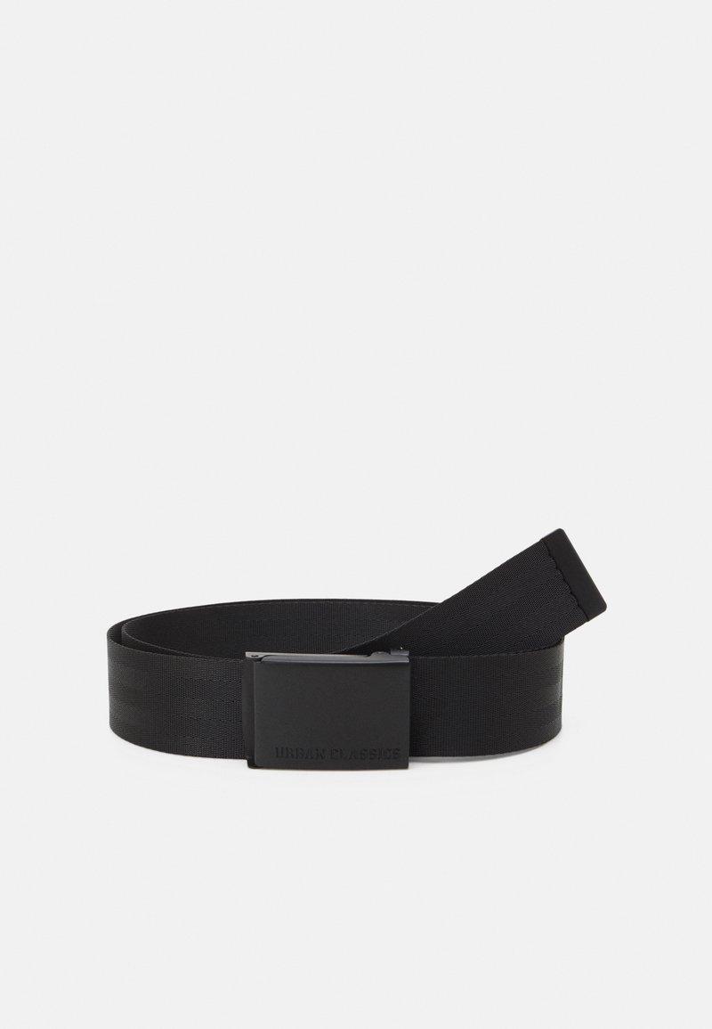 Urban Classics - EASY BELT UNISEX - Belt - black