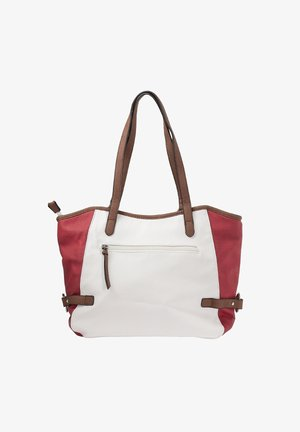 Handbag - bianco-red-pacific-brown