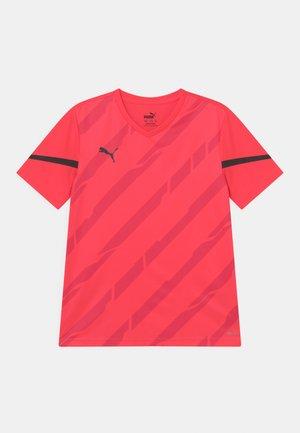INDIVIDUAL CUP JR UNISEX - Print T-shirt - sunblaze/puma black