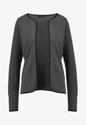 ONLDIAMOND CARDIGAN - Strickjacke - dark grey melange