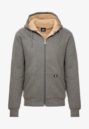 FRENCHBURG - Zip-up hoodie - dark heather