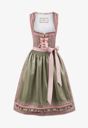 JULIA - Dirndl - rose-grün