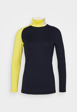 CLEMENCE SOFT COMPRESSION - Long sleeved top - navy