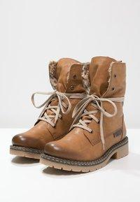 Rieker - Šněrovací kotníkové boty - cayenne/kastanie/braun - 2