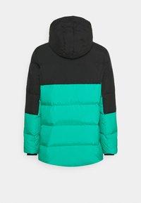 Jordan - Down coat - black/watermelon/neptune green - 1