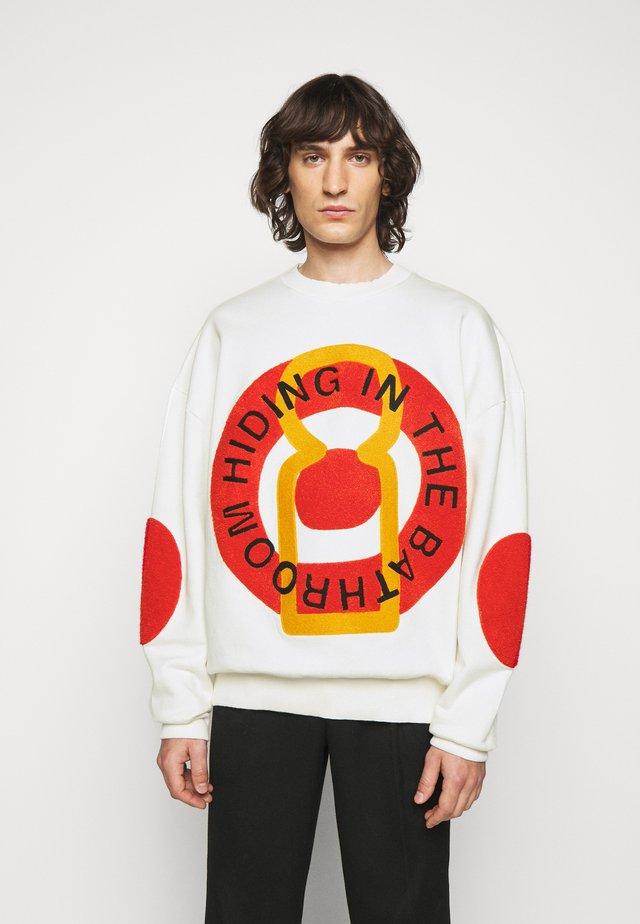 BIG CIRCLE  - Sweatshirt - white / red / yellow