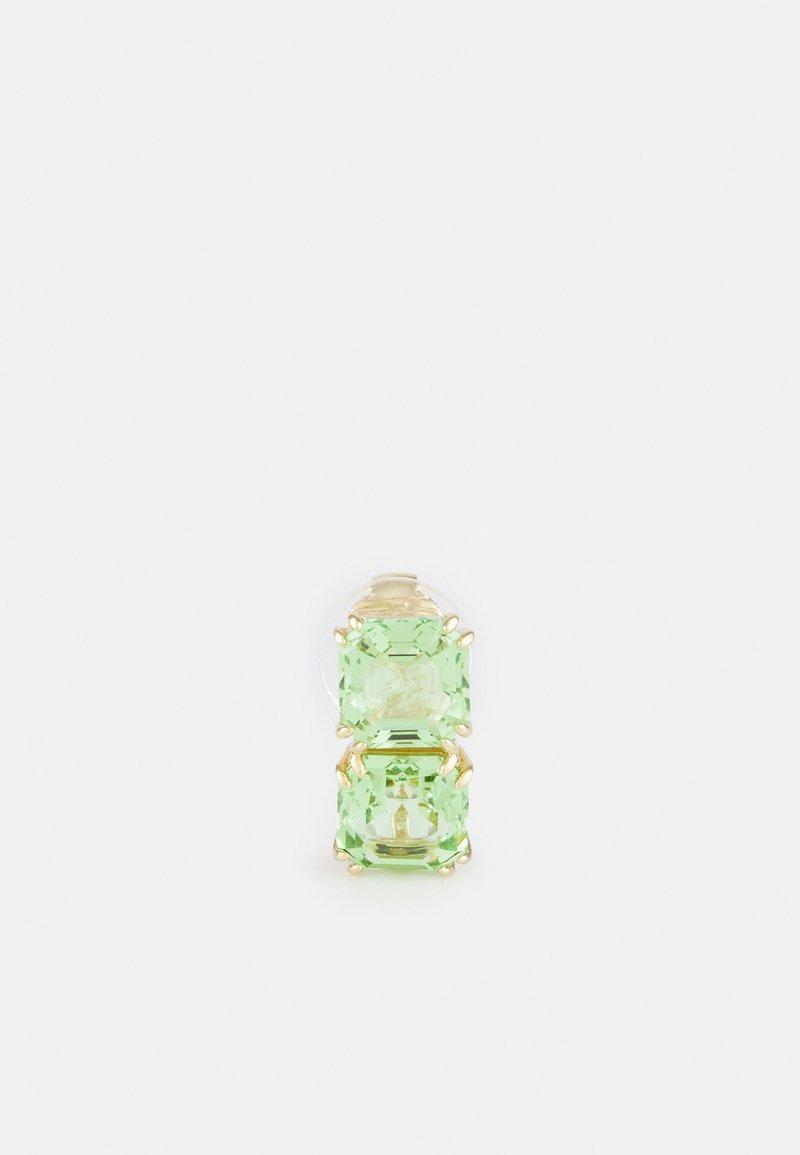 Swarovski - MILLENIA SINGLE EARRING - Earrings - green