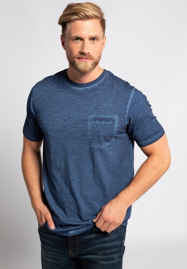 GROSSE GRÖSSEN  - T-shirt basic - blue denim