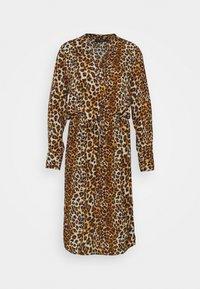 Soaked in Luxury - ZAYA DRESS  - Day dress - beige - 0