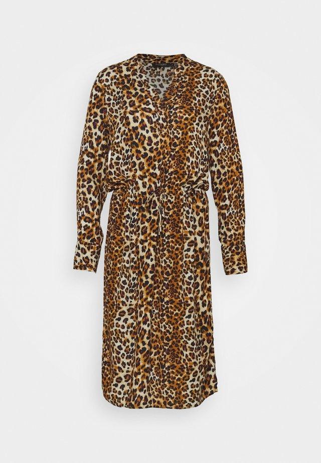 ZAYA DRESS  - Korte jurk - beige