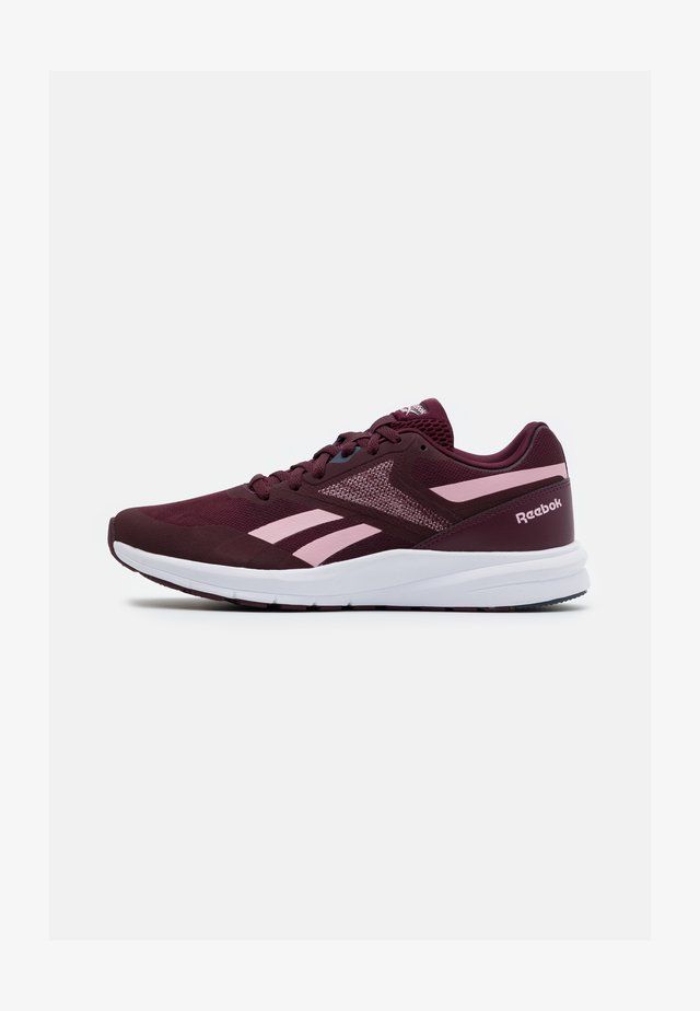 RUNNER 4.0 - Neutral running shoes - maroon/classic pink/smoke indigo