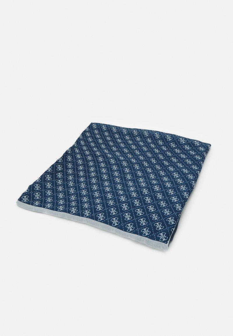 Guess - SCARF MONIQUE PRINTED KEFIAH - Foulard - blue