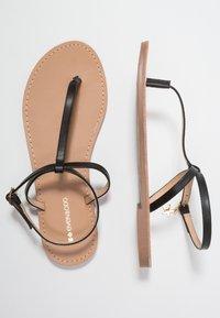 Even&Odd - T-bar sandals - black - 3