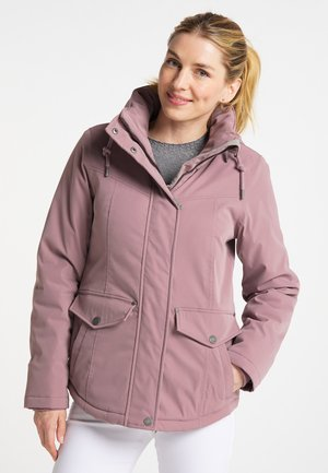 Winter jacket - malvenrot