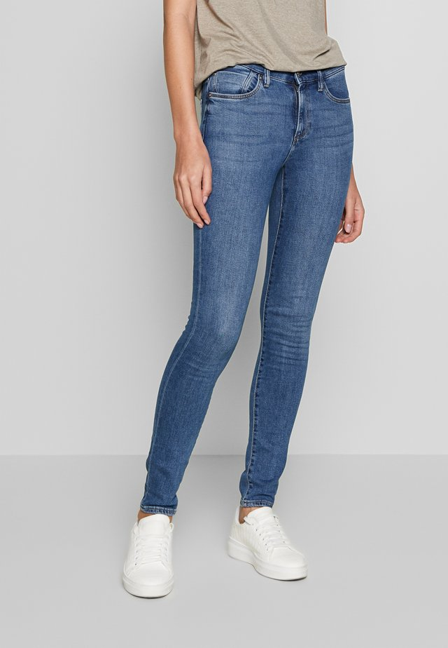 HOSE - Jeans Skinny Fit - dark-blue denim
