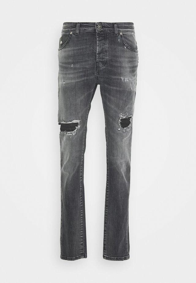 SOLEIL - Vaqueros slim fit - grey