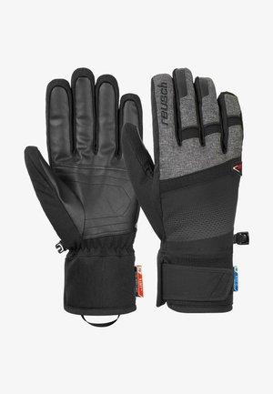 Gloves -  black/black melange