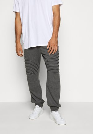 CRISTOBAL PLUS - Tracksuit bottoms - charcoal mix