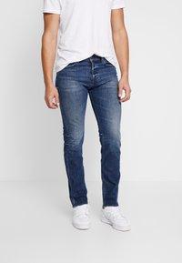 Diesel - BUSTER - Slim fit jeans - blue denim - 0