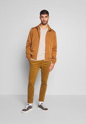 ICON VEE COLOR MULTIPACK 3 PACK - Camiseta básica - brown/green/burg
