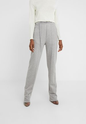 PANTS - Tracksuit bottoms - grey melange