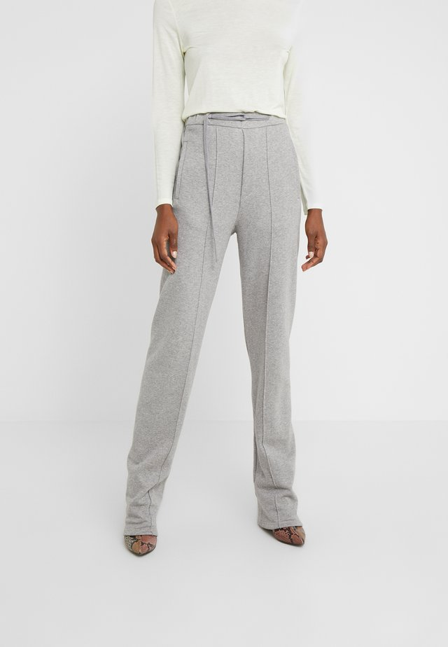 PANTS - Pantalon de survêtement - grey melange