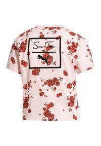 Puma - Print T-shirt - pink - 5