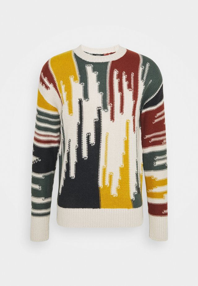 JPRBLAOBIE CREW NECK - Jumper - silver birch